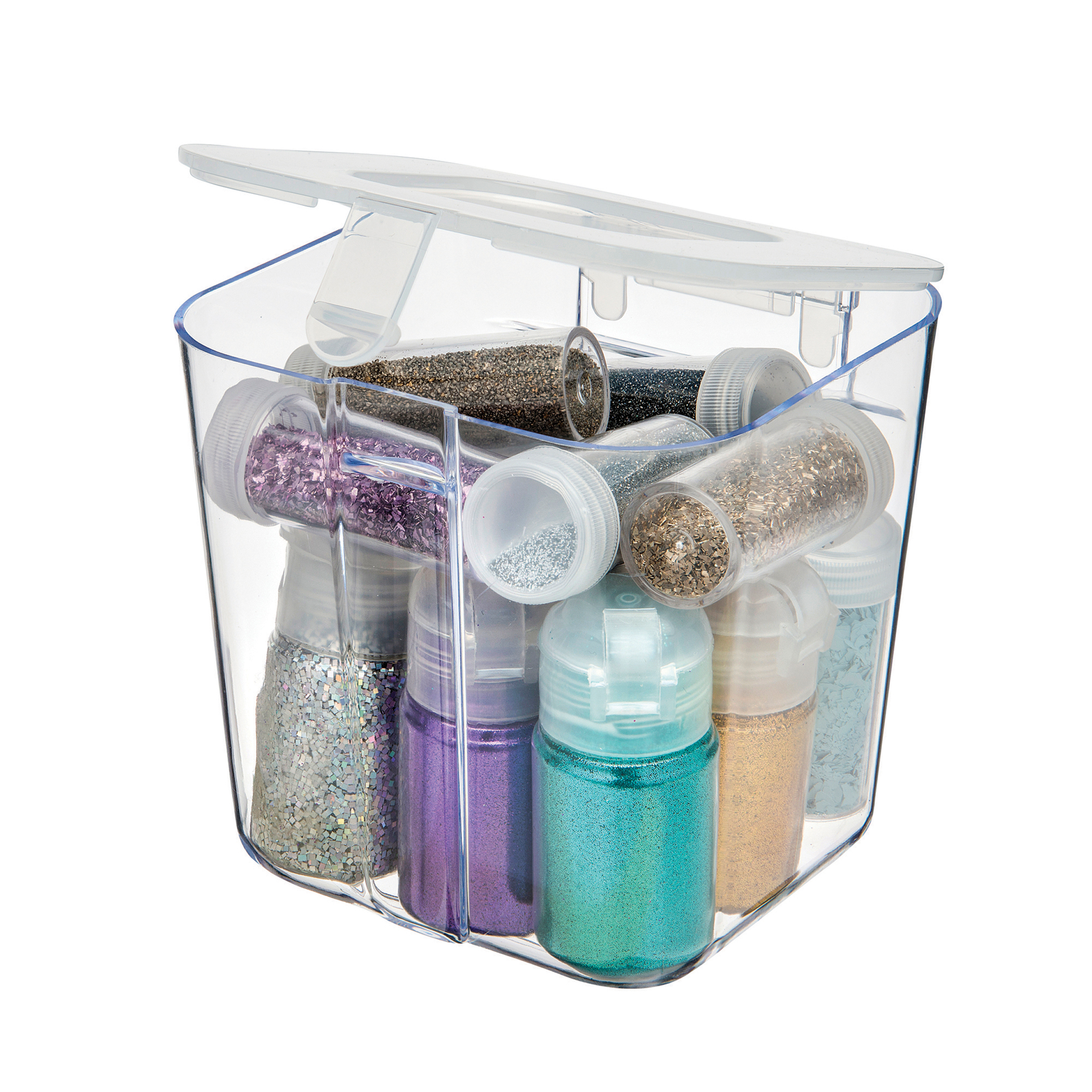Deflecto – Stackable Caddy Organizer Container – Small