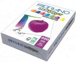 Fabriano 250 x A4 200GSM Extra White Paper