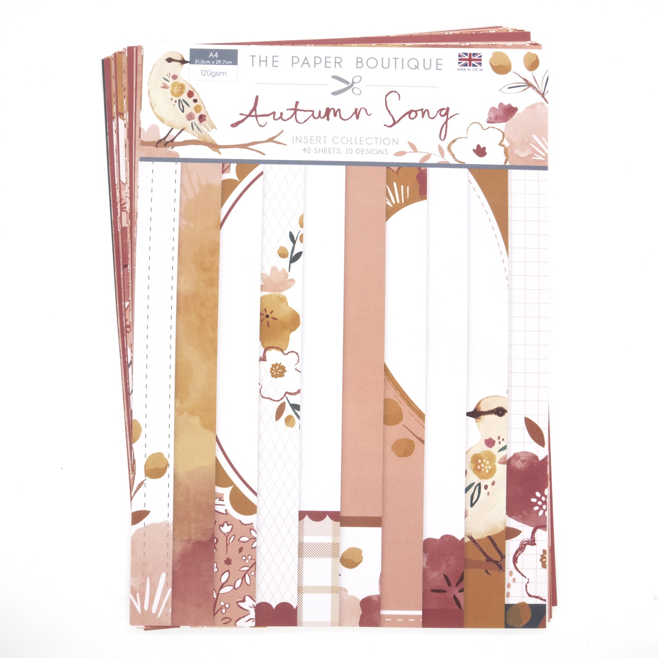 The Paper Boutique Autumn Song Insert Collection