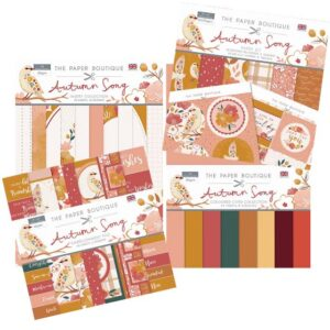 The Paper Boutique Autumn Song Collection