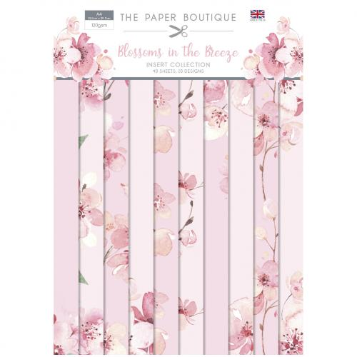 The Paper Boutique Blossoms in the Breeze Insert Collection