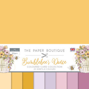 The Paper Boutique Bumblebee's Dance Coloured Card Collection