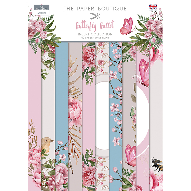 The Paper Boutique Butterfly Ballet Insert Collection