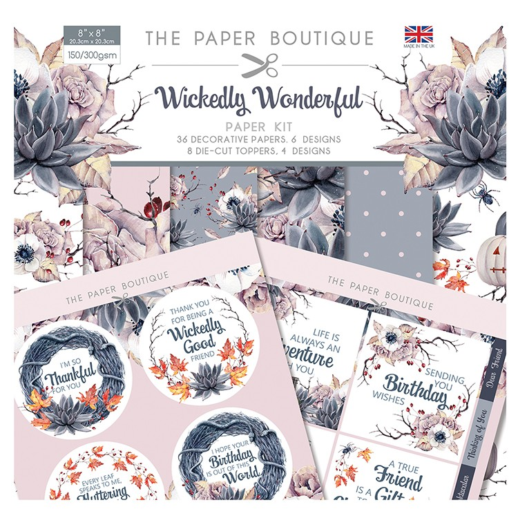 The Paper Boutique Wickedly Wonderful Collection