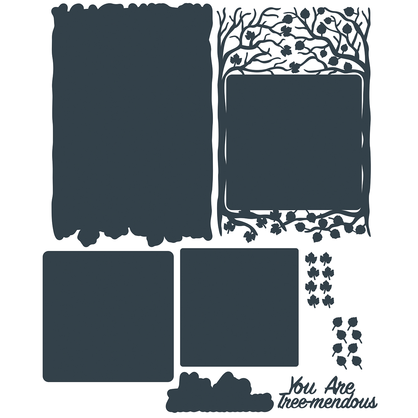 The Paper Boutique A Whisper of Autumn Collection –  You Are Tree-mendous Cutting Dies