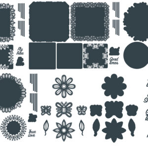 The Paper Boutique Butterfly Flurries Beyond Doily Die – Complete Collection