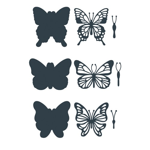 The Paper Boutique Butterfly Ballet – Embellishment Cutting Die