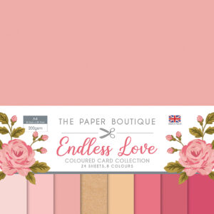 The Paper Boutique Endless Love Coloured Card Collection