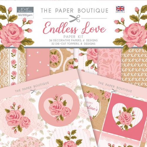 The Paper Boutique Endless Love Paper Kit