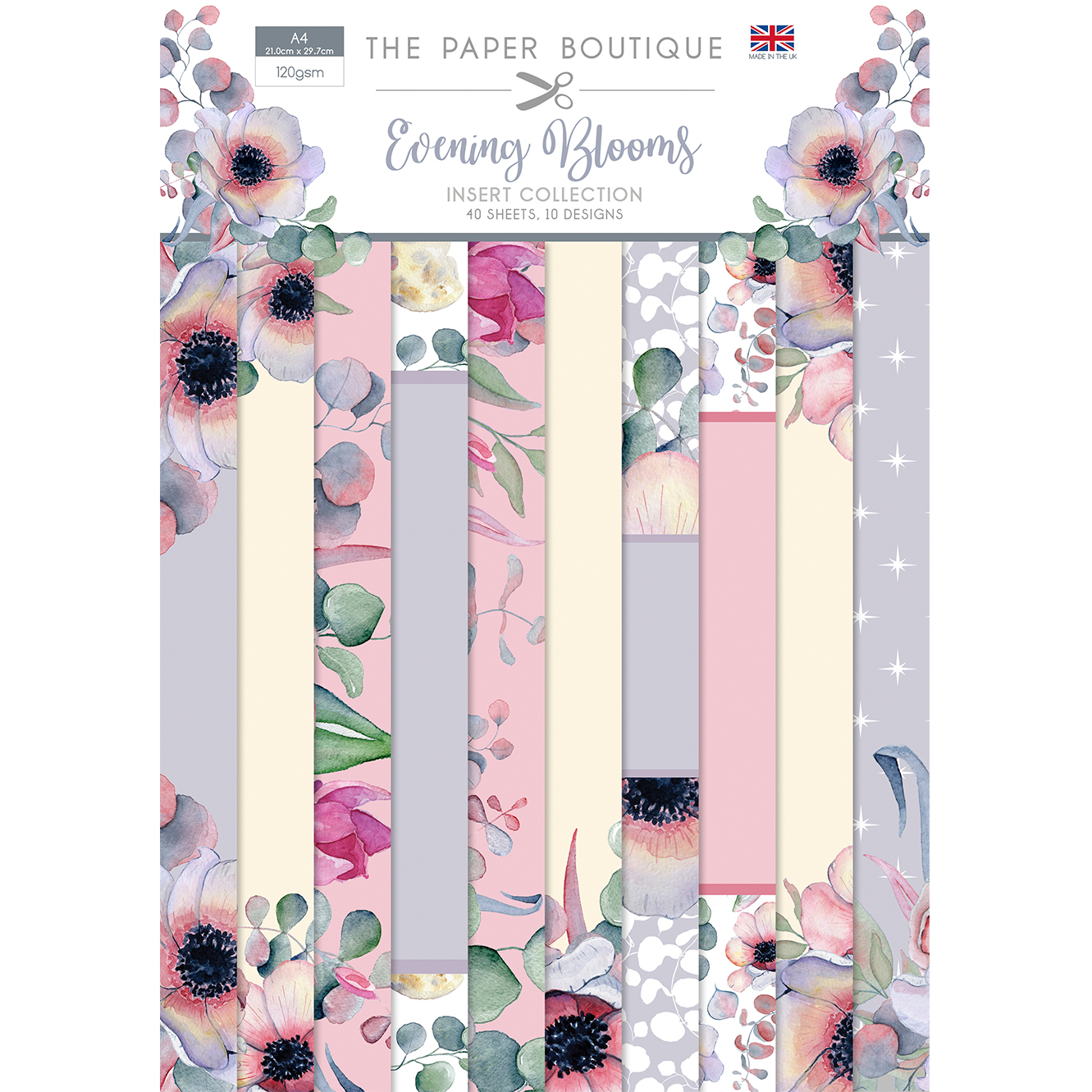 The Paper Boutique Evening Blooms Insert Collection