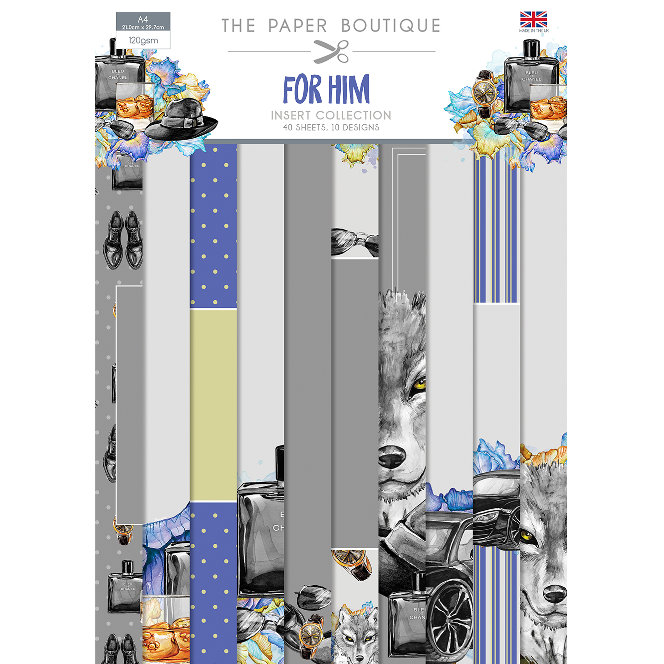 The Paper Boutique For Him Insert Collection