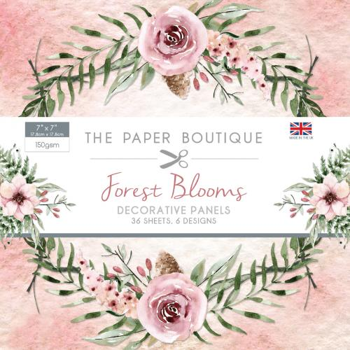 The Paper Boutique Forest Blooms 7″ x 7″ Panel Pad