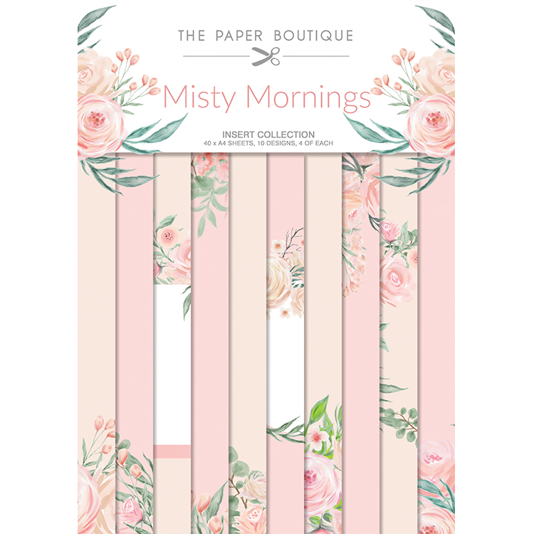The Paper Boutique Misty Mornings Inserts Collection