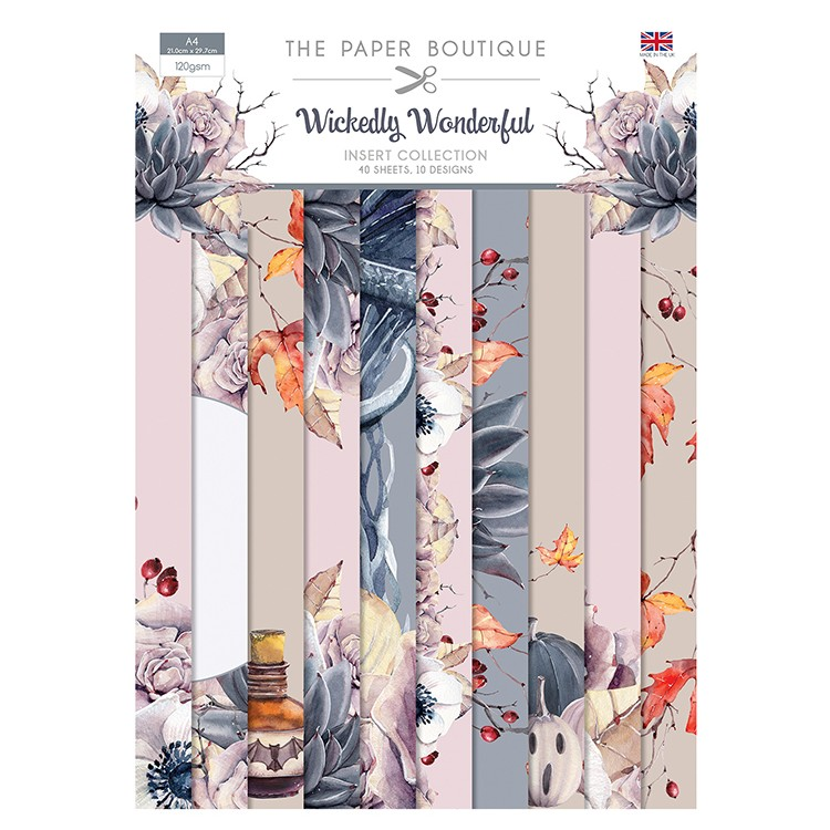The Paper Boutique Wickedly Wonderful Insert Collection