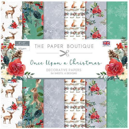 The Paper Boutique Once Upon a Christmas 8″ x 8″ Paper Pad