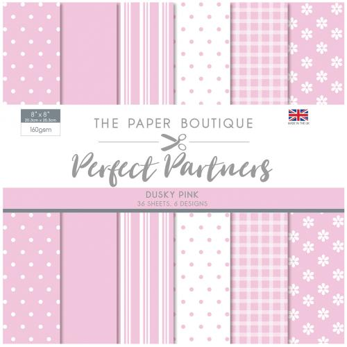 The Paper Boutique Perfect Partners 8″ x 8″ Pad – Dusky Pink