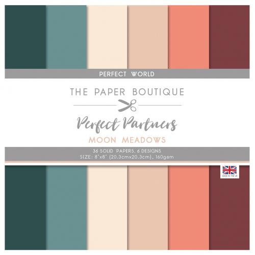 The Paper Boutique Perfect Partners Moon Meadows 8″ x 8″ Pad – Perfect Solids