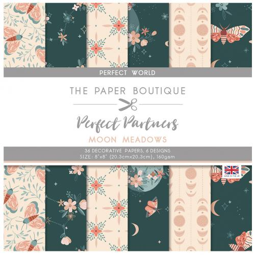 The Paper Boutique Perfect Partners Moon Meadows 8″ x 8″ Pad – Perfect World