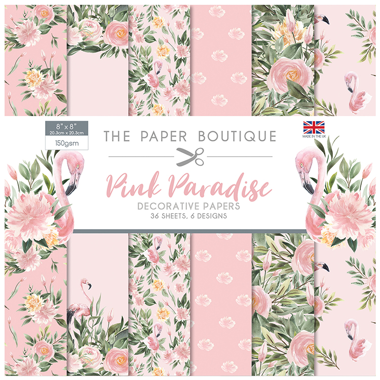 The Paper Boutique Pink Paradise 8″ x 8″ Paper Pad