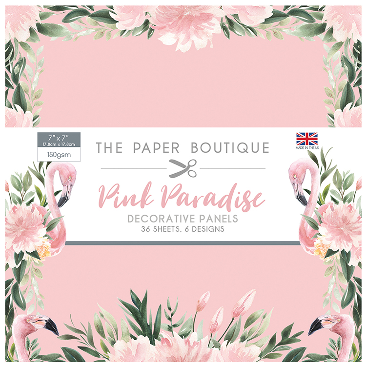 The Paper Boutique Pink Paradise 7″ x 7″ Panel Pad