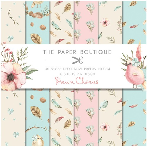 The Paper Boutique Dawn Chorus 8″ x 8″ Popper Pad