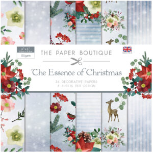 The Paper Boutique The Essence of Christmas 6″ x 6″ Popper Pad