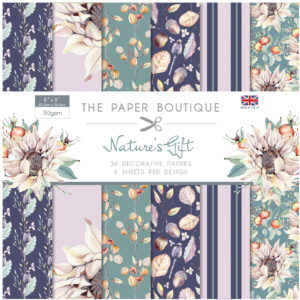The Paper Boutique Nature's Gift 8″ x 8″ Paper Pad