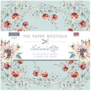 The Paper Boutique Nature's Gift 7″ x 7″ Decorative Panel Pad
