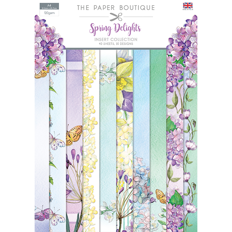 The Paper Boutique Spring Delights Insert Collection