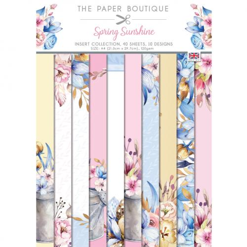 The Paper Boutique Spring Sunshine Insert Collection