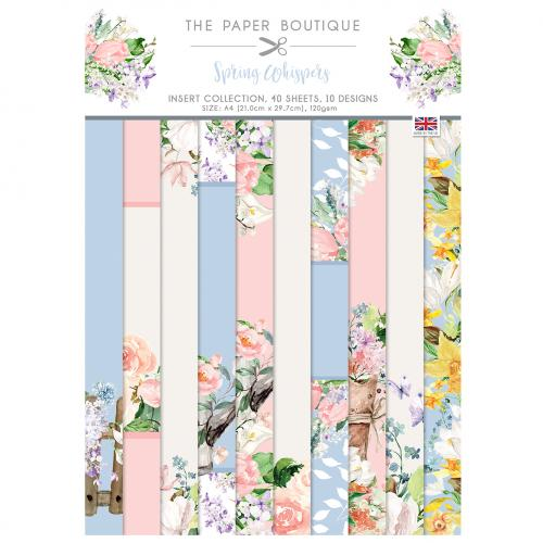 The Paper Boutique Spring Whispers Insert Collection