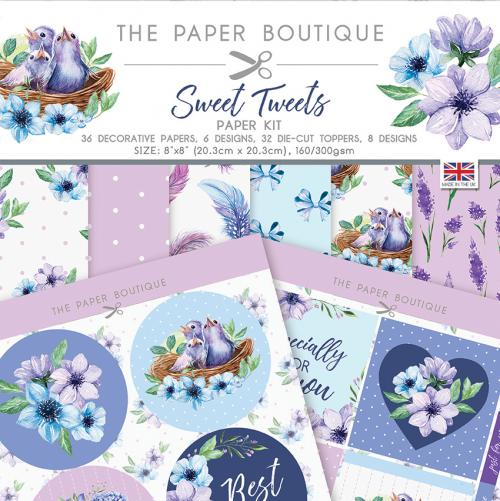 The Paper Boutique Sweet Tweets Paper Kit