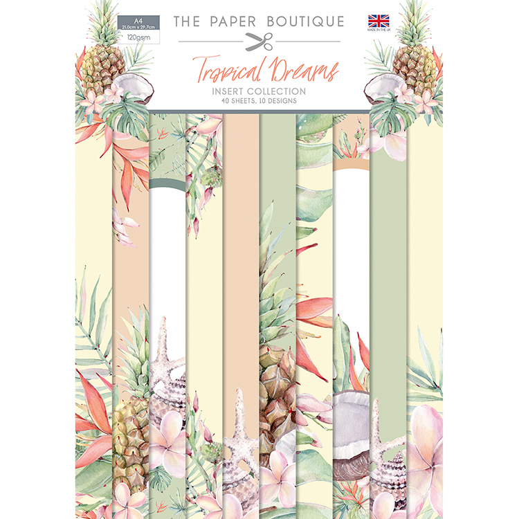 The Paper Boutique Tropical Dreams Insert Collection