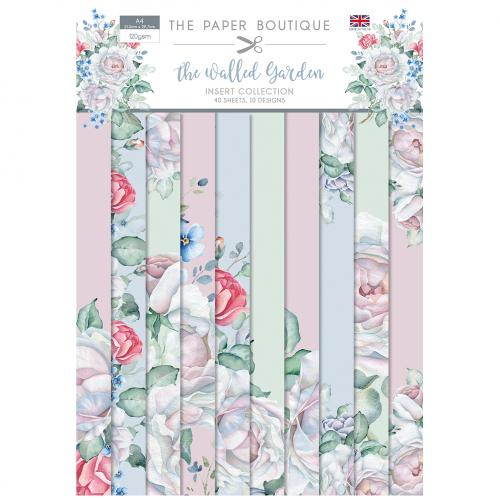 The Paper Boutique The Walled Garden Insert Collection