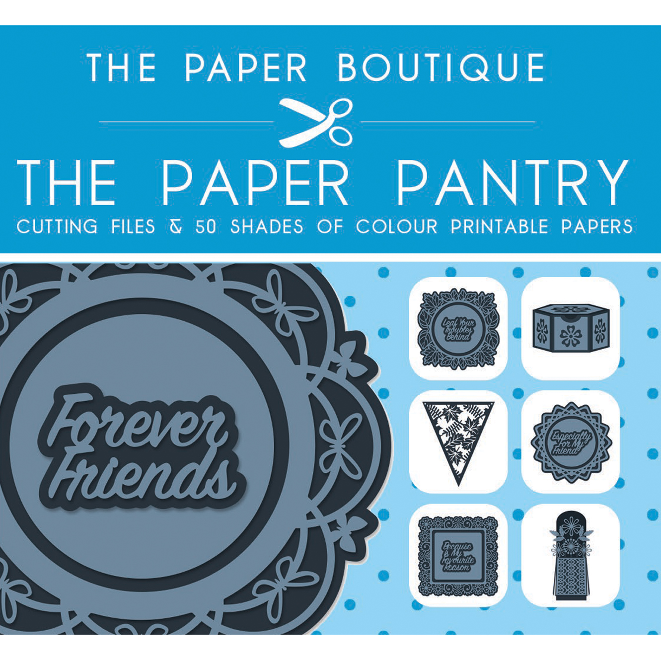 The Paper Pantry Cutting Files Vol. I USB