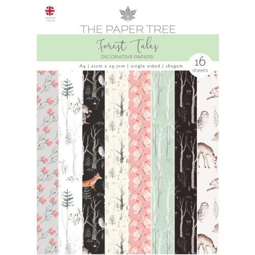 The Paper Tree Forest Tales A4 Decorative Papers