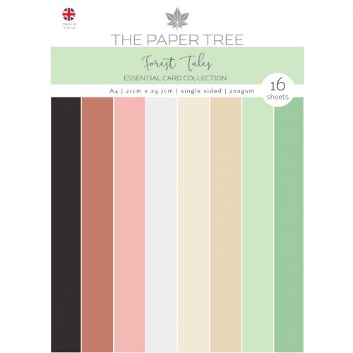 The Paper Tree Forest Tales A4 Essential Coloured Card