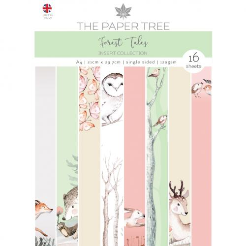 The Paper Tree Forest Tales A4 Insert Collection