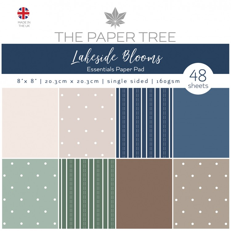The Paper Tree Lakeside Blooms Essentials Pad