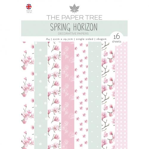 The Paper Tree Spring Horizon A4 Decorative Papers
