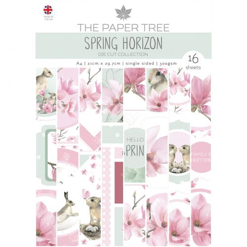 The Paper Tree Spring Horizon A4 Die Cut Collection