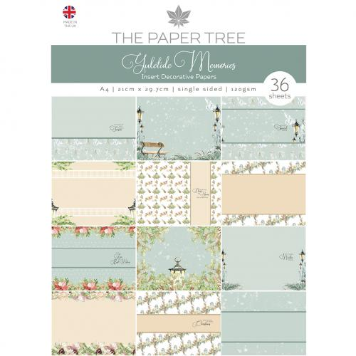 The Paper Tree Yuletide Memories Insert Collection