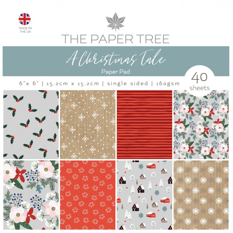The Paper Tree A Christmas Tale 6″ x 6″ Paper Pad