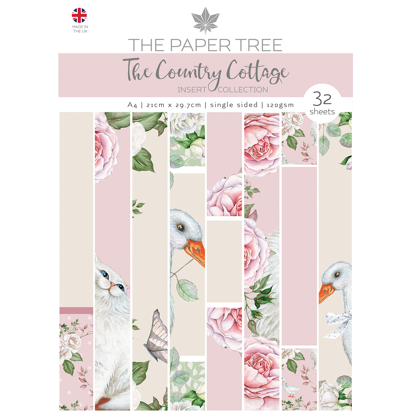 The Paper Tree The Country Cottage A4 Insert Collection