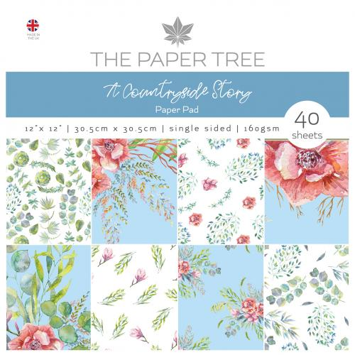 The Paper Tree A Countryside Story 12″ x 12″ Paper Pad