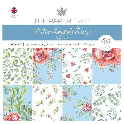 The Paper Tree A Countryside Story 6″ x 6″ Paper Pad
