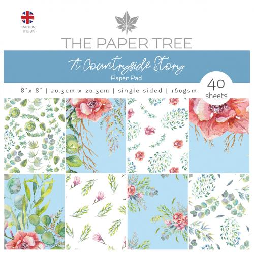 The Paper Tree A Countryside Story 8″ x 8″ Paper Pad