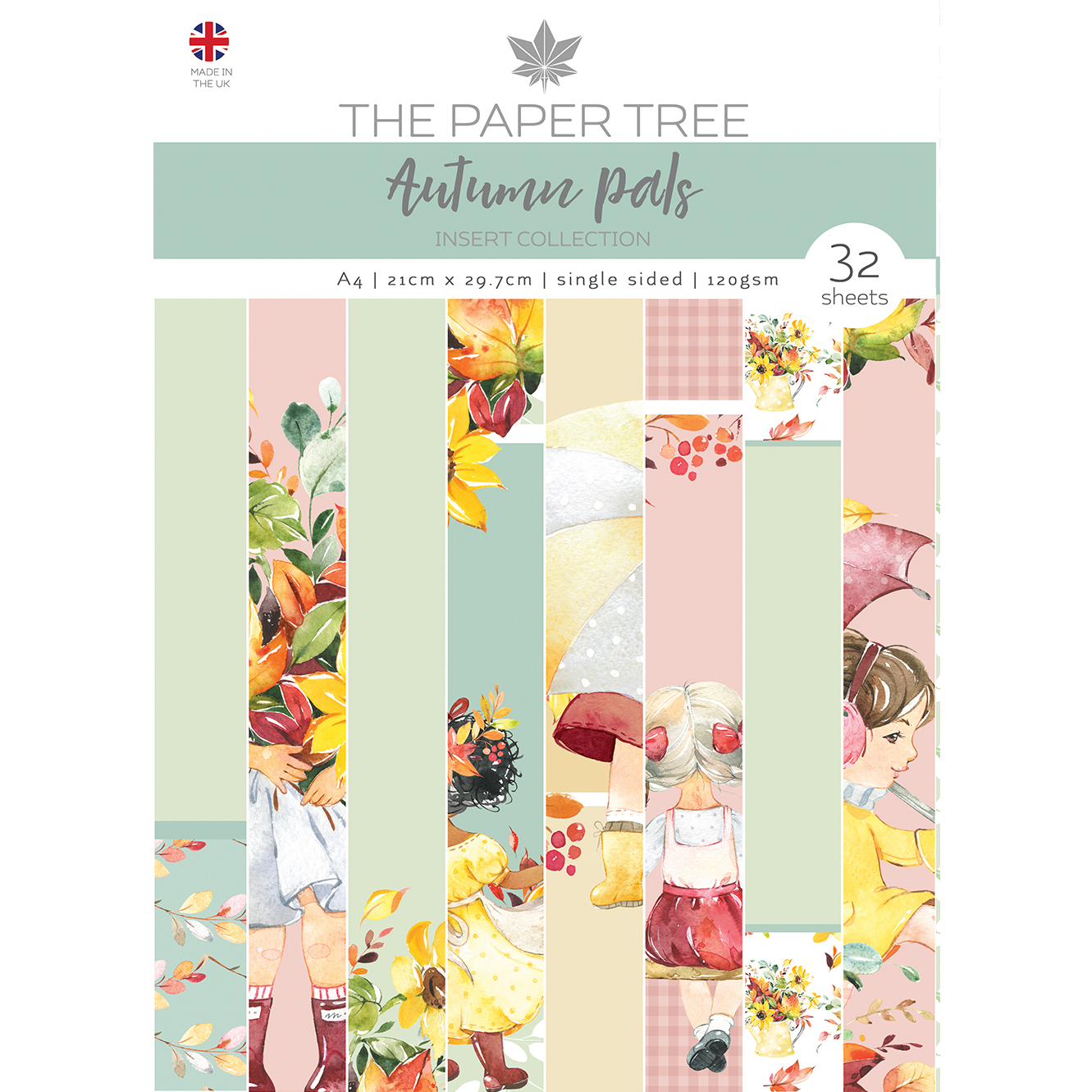 The Paper Tree Autumn Pals A4 Insert Collection