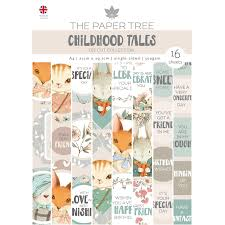 The Paper Tree Childhood Tales A4 Die Cut Collection