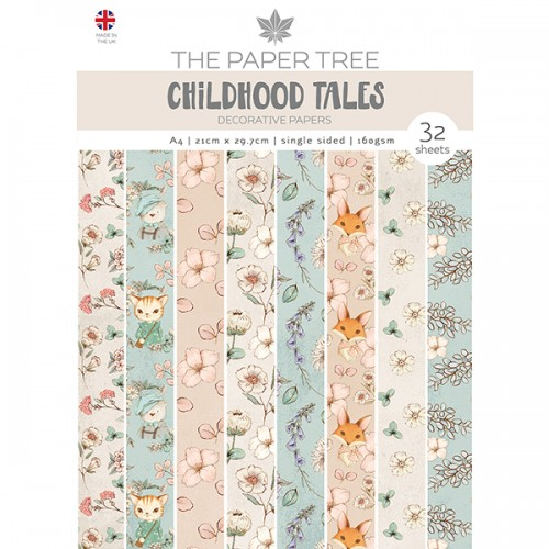 The Paper Tree Childhood Tales A4 Decorative Papers